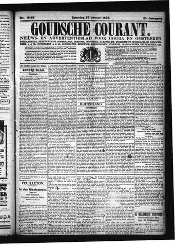 Goudsche Courant 1923-01-27