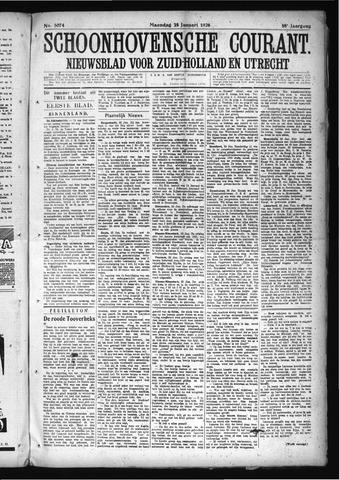 Schoonhovensche Courant 1926-01-25