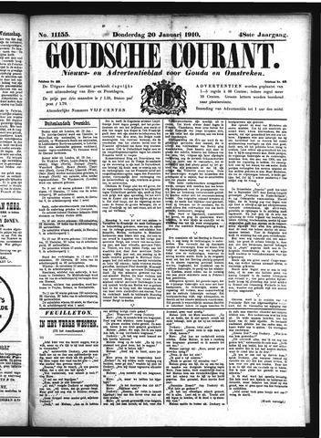 Goudsche Courant 1910-01-20