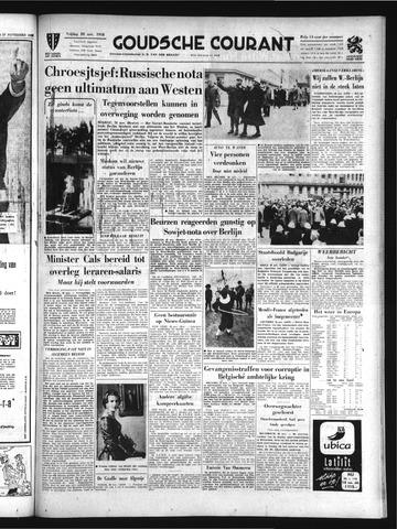 Goudsche Courant 1958-11-28