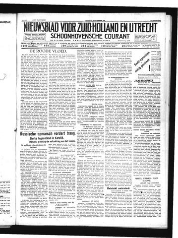 Schoonhovensche Courant 1939-12-04