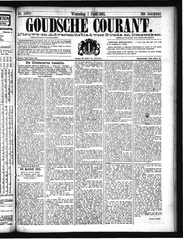 Goudsche Courant 1921-06-01