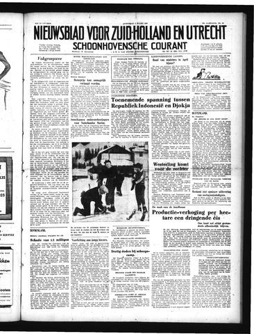 Schoonhovensche Courant 1950-03-01