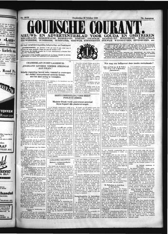 Goudsche Courant 1939-10-26