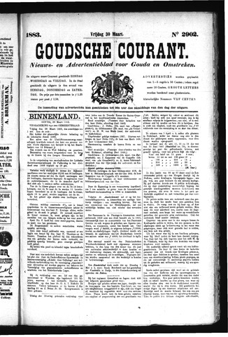 Goudsche Courant 1883-03-30