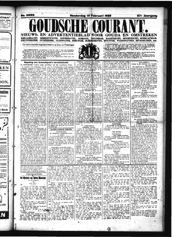 Goudsche Courant 1929-02-14
