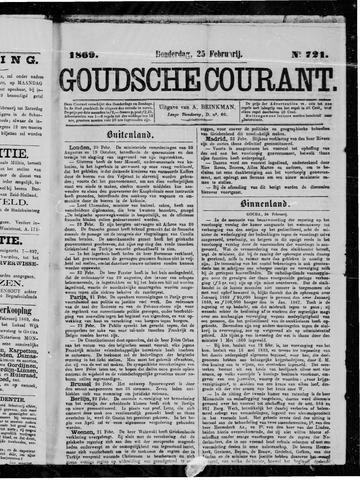 Goudsche Courant 1869-02-25