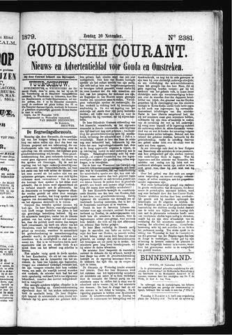 Goudsche Courant 1879-11-30