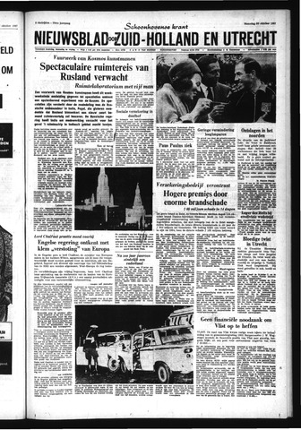 Schoonhovensche Courant 1967-10-30