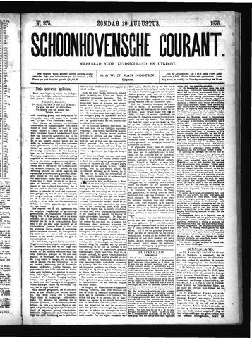 Schoonhovensche Courant 1876-08-20