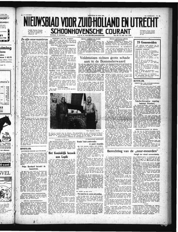 Schoonhovensche Courant 1949-07-20