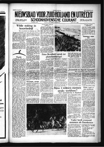 Schoonhovensche Courant 1956-06-01