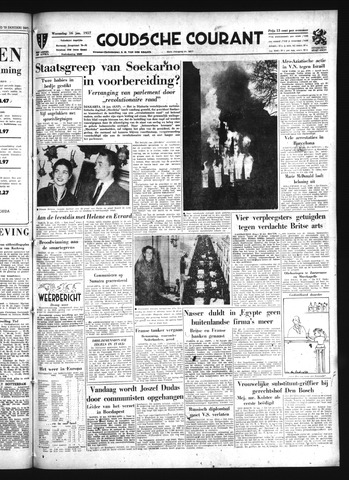 Goudsche Courant 1957-01-16