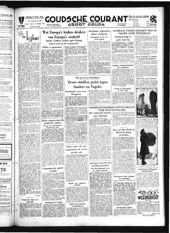 Goudsche Courant 1950-02-21