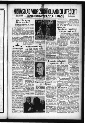 Schoonhovensche Courant 1953-10-16