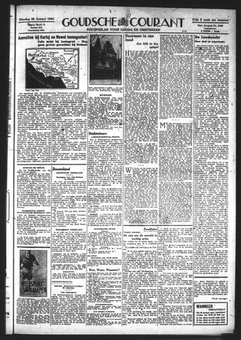 Goudsche Courant 1944-01-25