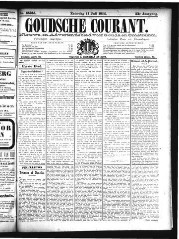 Goudsche Courant 1914-07-11