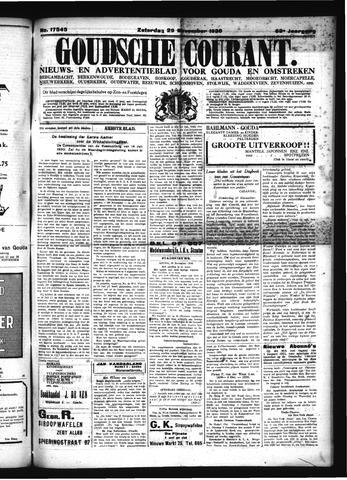 Goudsche Courant 1930-11-29