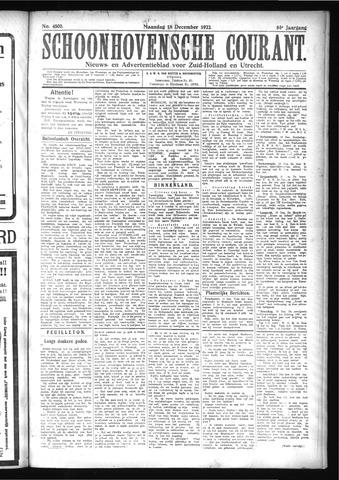 Schoonhovensche Courant 1922-12-18