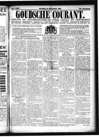 Goudsche Courant 1931-11-10