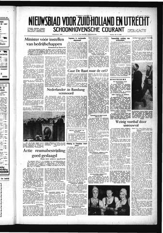 Schoonhovensche Courant 1956-01-09