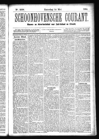 Schoonhovensche Courant 1904-05-14