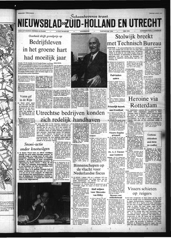 Schoonhovensche Courant 1973-01-08