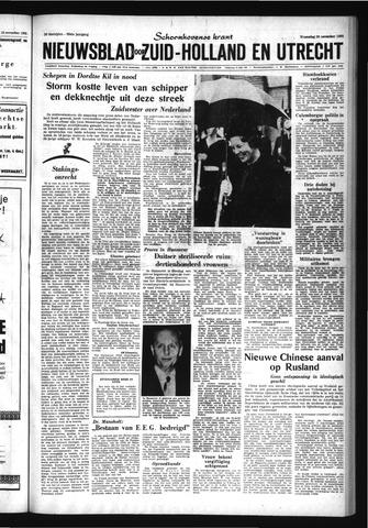 Schoonhovensche Courant 1963-11-20
