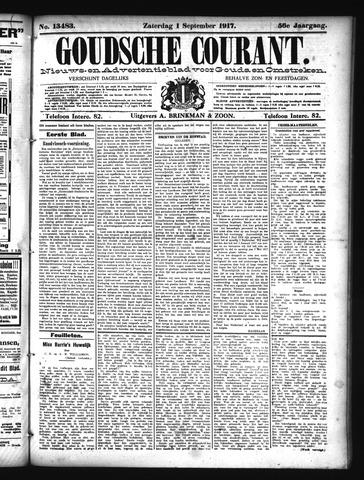 Goudsche Courant 1917-09-01