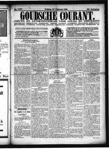 Goudsche Courant 1931-02-27