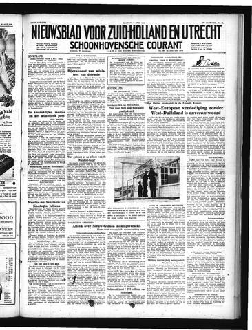 Schoonhovensche Courant 1950-04-03
