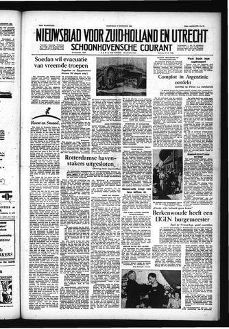 Schoonhovensche Courant 1955-08-17