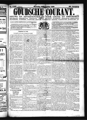 Goudsche Courant 1929-11-18