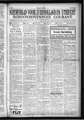 Schoonhovensche Courant 1928-06-15