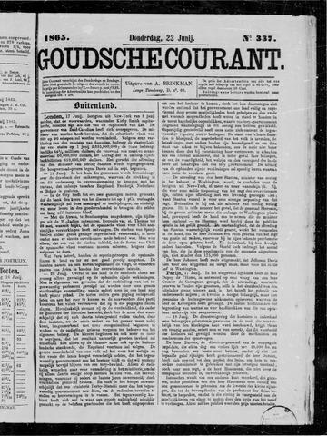 Goudsche Courant 1865-06-22