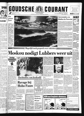 Goudsche Courant 1985-12-24