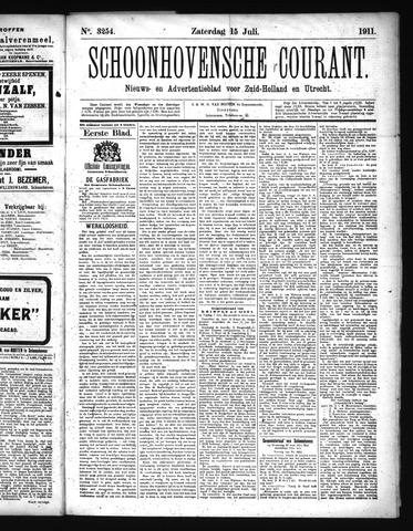 Schoonhovensche Courant 1911-07-15