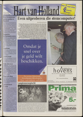 Hart van Holland 1998-02-04