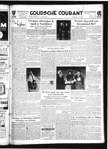 Goudsche Courant 1951-05-28