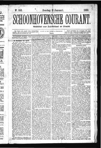 Schoonhovensche Courant 1880-01-11