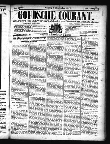 Goudsche Courant 1917-09-07