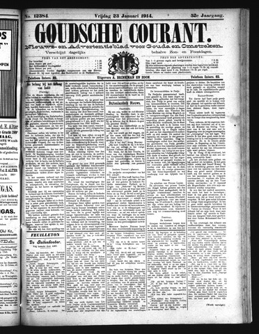 Goudsche Courant 1914-01-23