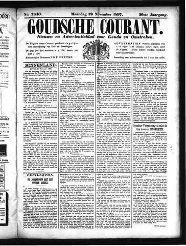 Goudsche Courant 1897-11-29