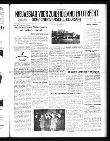 Schoonhovensche Courant 1952-05-09