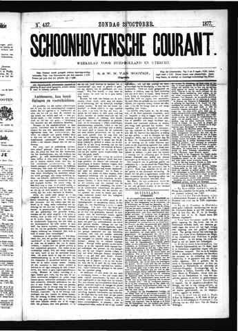 Schoonhovensche Courant 1877-10-28