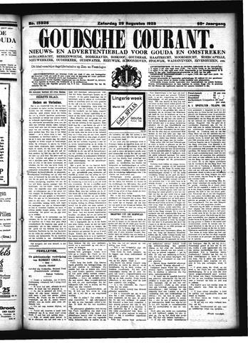 Goudsche Courant 1925-08-29