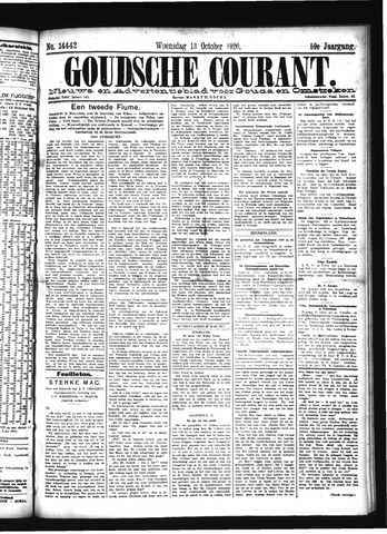 Goudsche Courant 1920-10-13