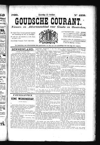 Goudsche Courant 1890-10-25