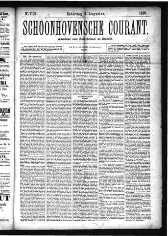 Schoonhovensche Courant 1890-08-02