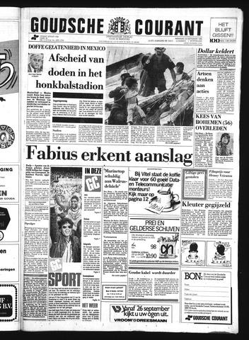 Goudsche Courant 1985-09-23